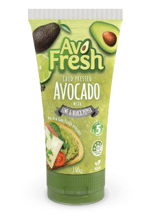 AvoFresh tube with lime and black pepper